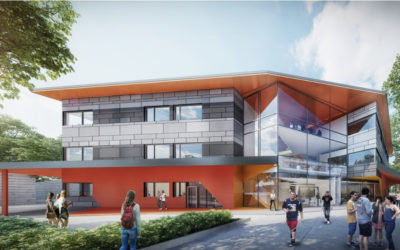 Design of Strathmore Secondary College with Intumescent Paint